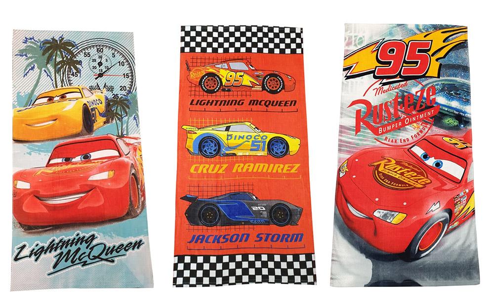 Disney Cars Handtuch für Kinder mit versch. Charakteren 70x140 cm (Auswahl)