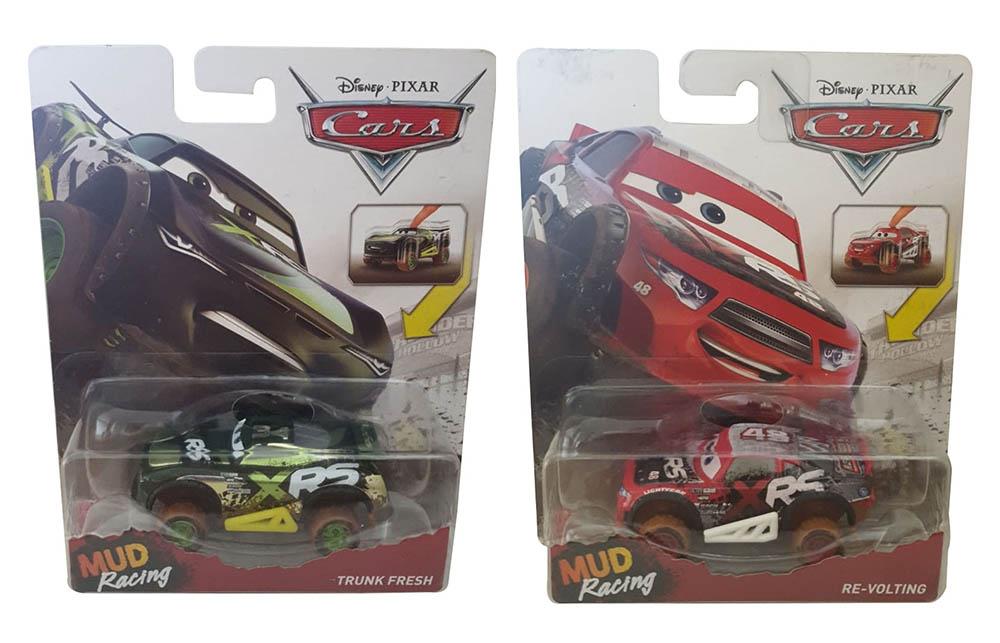 Disney Cars XRS Xtreme Racing Serie Schlammrennen Die-Cast Spielzeugauto