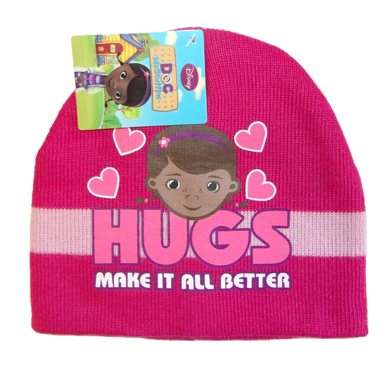 Disney Doc McStuffins Mütze für Mädchen Pink 52