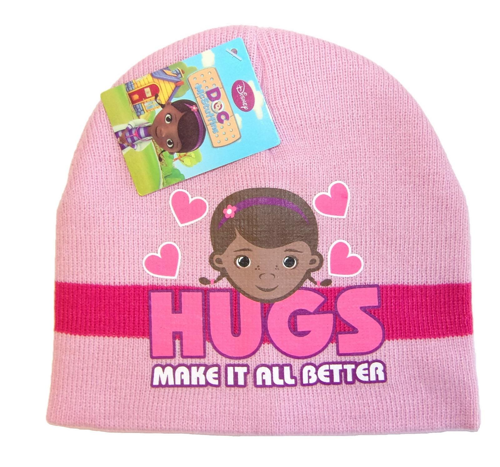 Disney Doc McStuffins Mütze für Mädchen Rosa 52