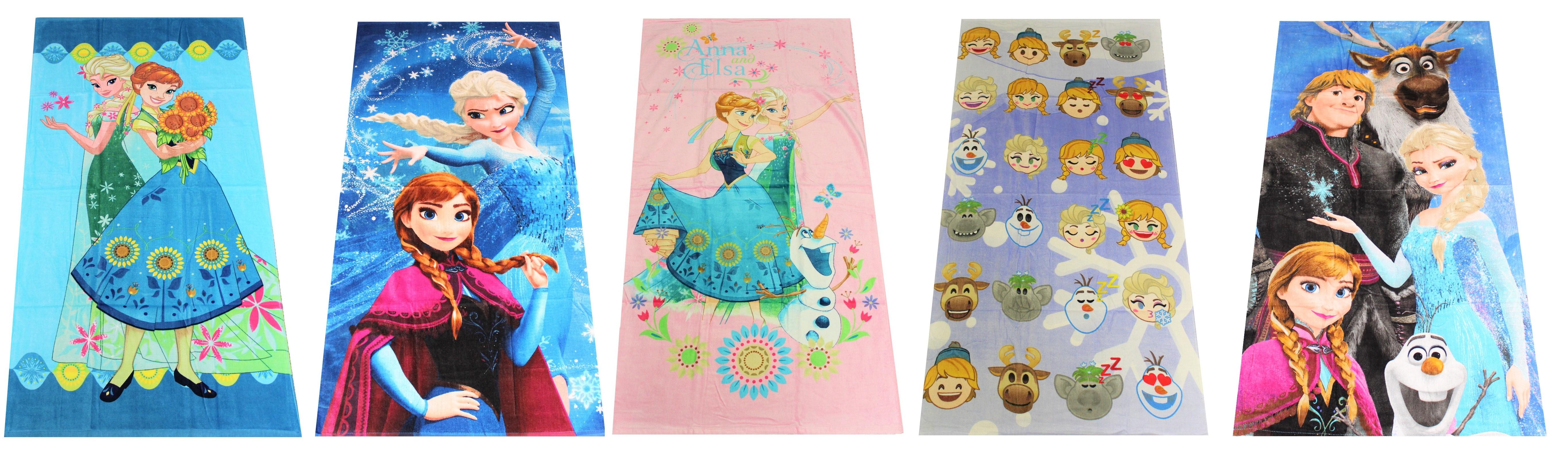 Disney Frozen Handtuch versch. Designs für Kinder 70 x 140 cm (Auswahl)