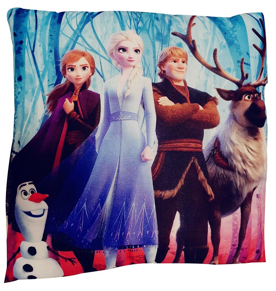 Disney Frozen 2 Kissen mit verschiedenen Charakteren 40x40cm 100% Polyester