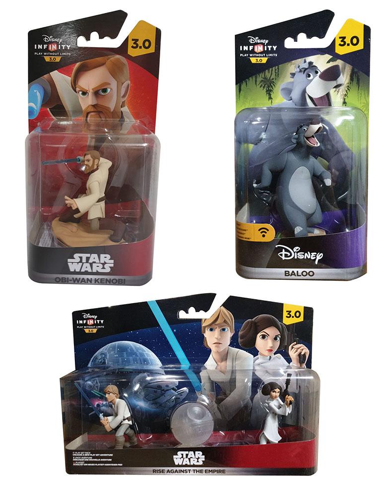 Disney Infinity 3.0 Action ca. 10 cm groß Figuren Videospiel Zubehör (Auswahl)