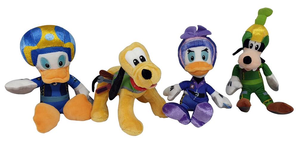 Disney Junior Soft-Plüschfiguren Superpiloten 20cm für Kinder (Auswahl)
