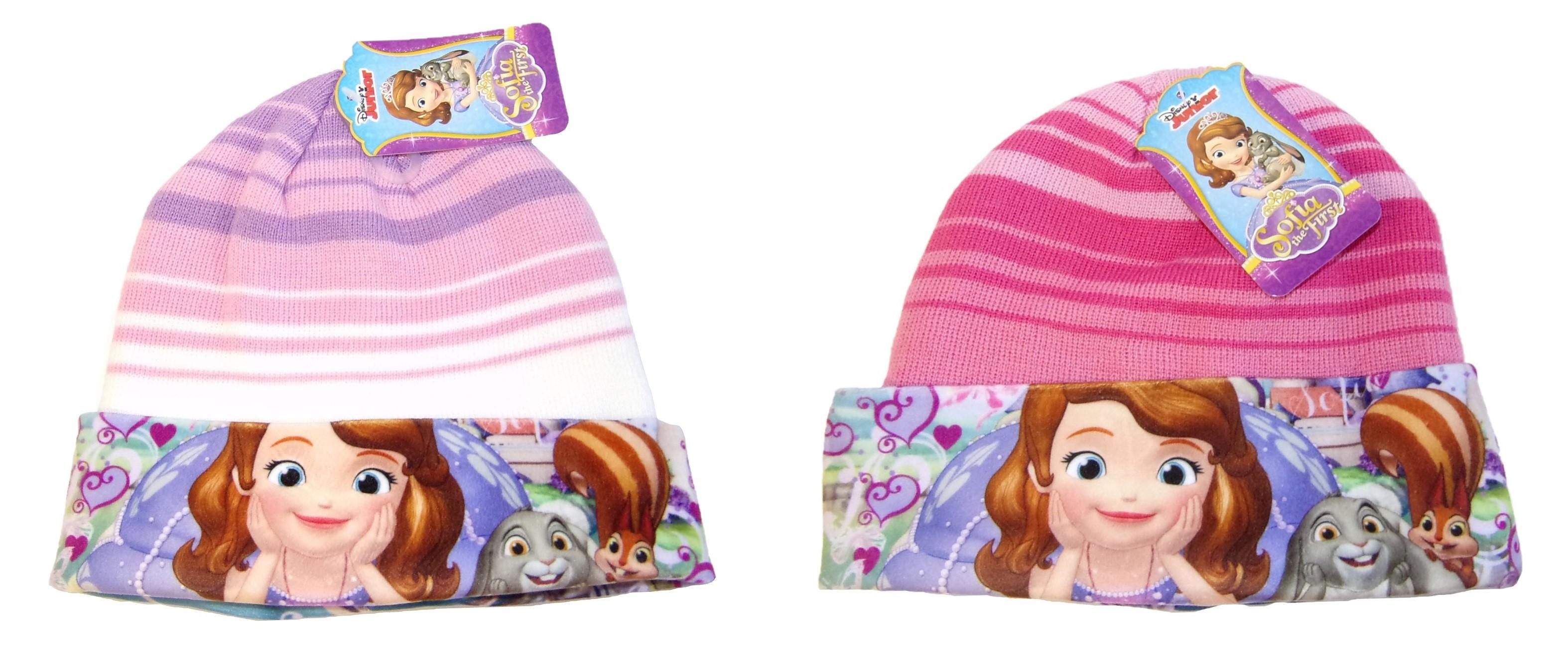 Disney Junior Sofia Mütze für Kinder, Mädchen verschiedene Größen (Auswahl)