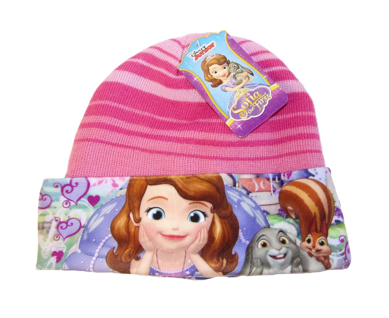 Disney Junior Sofia Mütze für Kinder, Mädchen Rosa-Pink 54