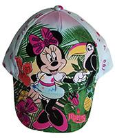 Disney Minnie Maus Kinder-Kappe, Base Cap, Minnie im Dschungel, Blau, Gr.48