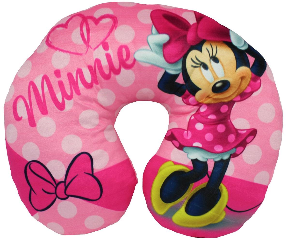 Disney Minnie Mouse Nackenkissen Reisekissen pink 28 x 33 cm