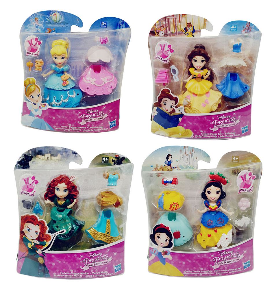 Disney Mode-Prinzessinnen mit Kleidern und Accessoires Little Kingdom (Auswahl)