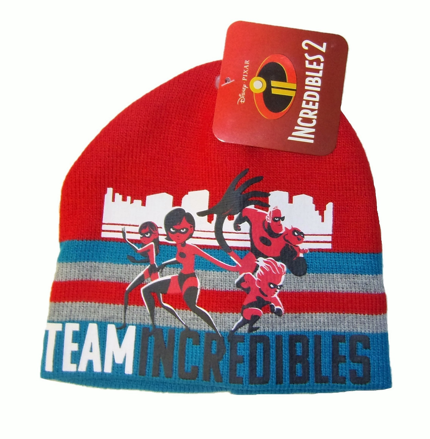 Disney Pixar Incredibles 2 Mütze für Kinder Rot 52