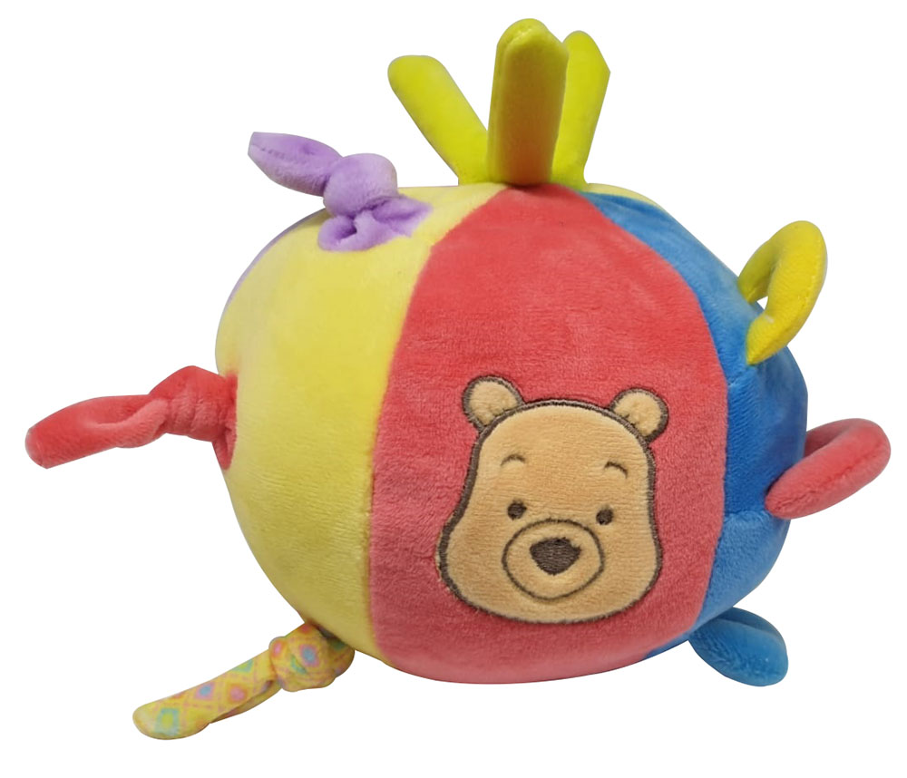 Disney Winnie Puuh Lern-Plüschball mit Funktionen für Babys mehrfarbig
