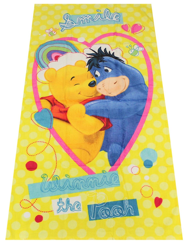 Badetuch Kinder Duschtuch Strandtuch Handtuch Baby Saunatuch WINNIE PUUH 70x140