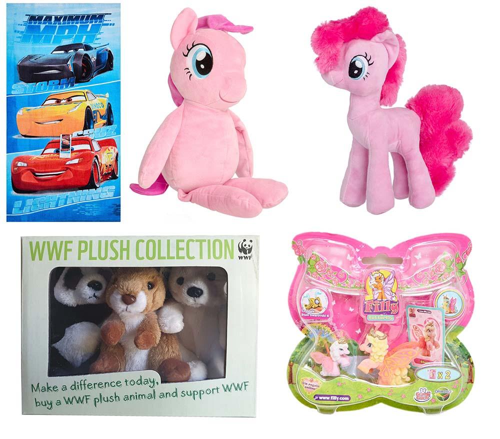 Dracco Filly Butterfly WWF Hasbro My Little Pony PINKIE PIE Rosa Disney Cars