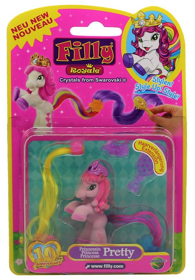 Dracco Filly Royale Prinzessin Pretty zum frisieren & süßen Accessoires