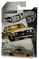 Hot Wheels FRN26 - 50th Anniversary 68 Plymouth Barracuda Formular S, Sammler-Edition