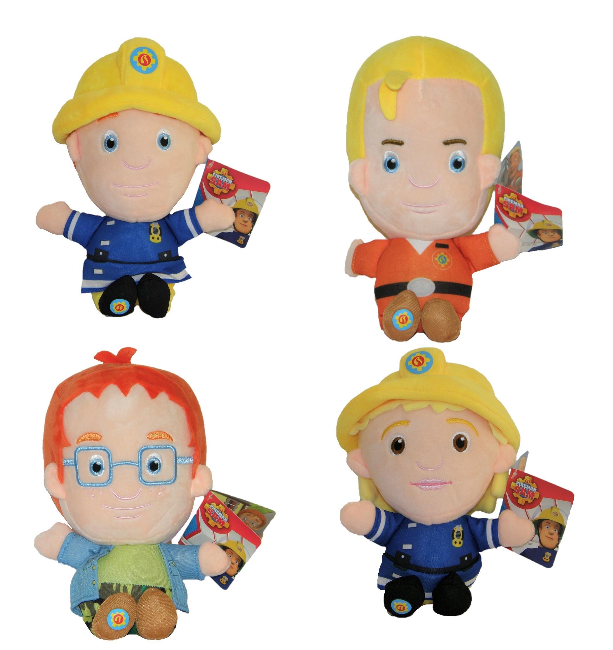Feuerwehrmann Sam Plüschfigur verschiedene Charaktere 28 cm (Auswahl)
