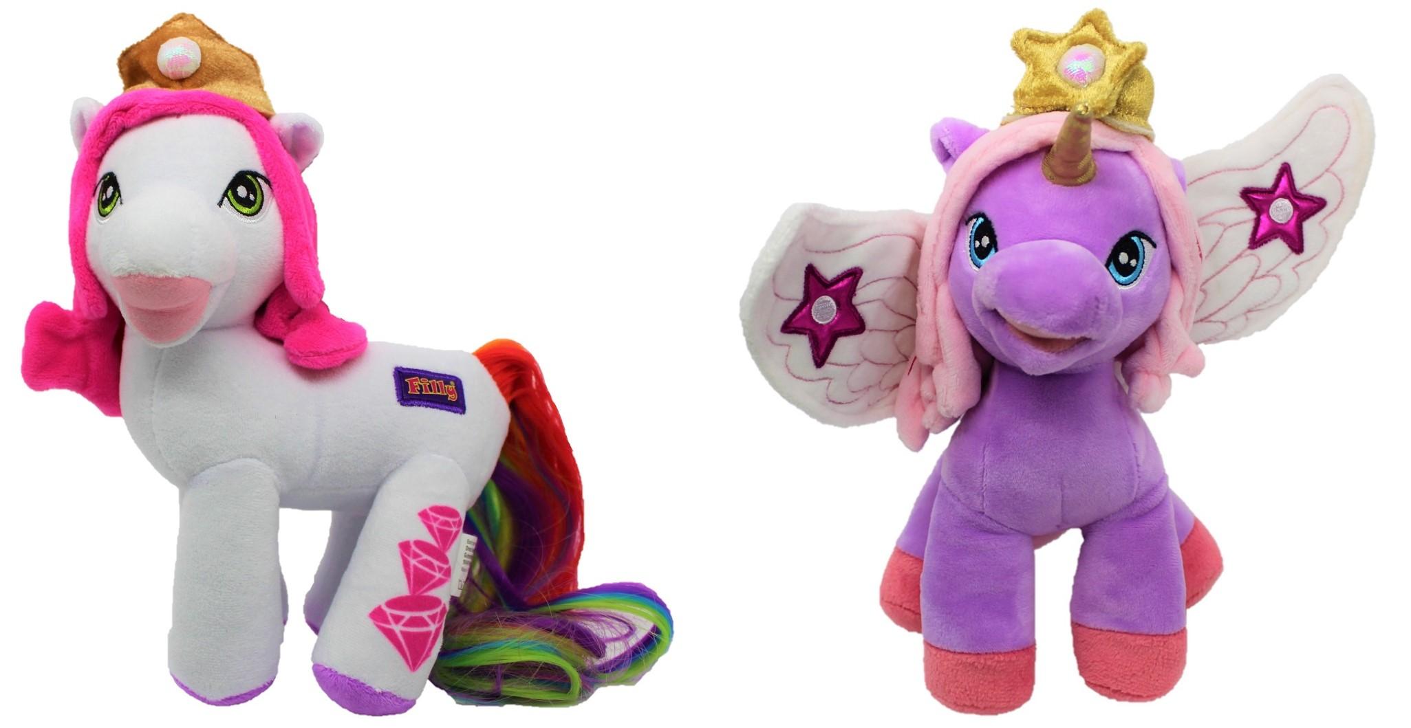 Filly Prinzessinnen süße Plüsch-Pferdchen 25cm für Mädchen (Auswahl)