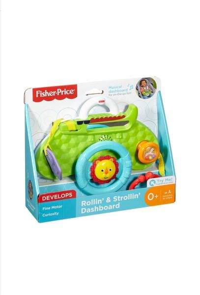 Fisher-Price DYW53 Mattel Musik-Lenkrad Rainforest