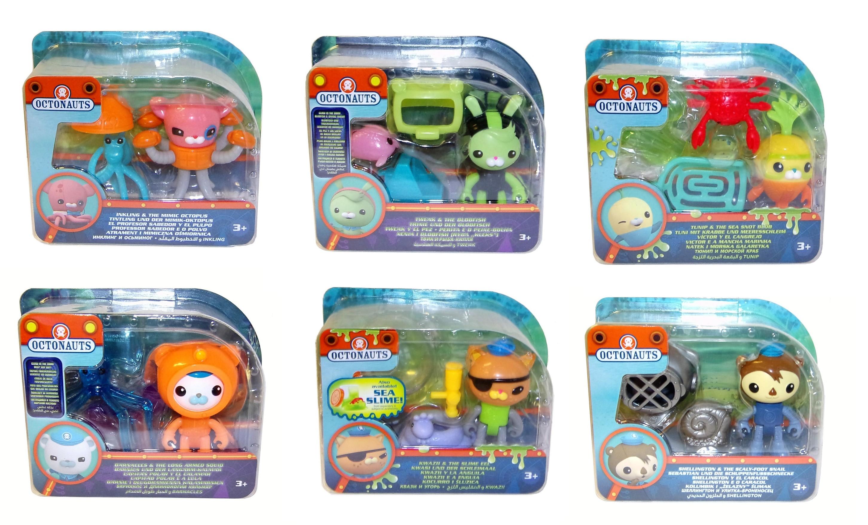 Fisher-Price Octonauts Spielset verschiedene Charaktere (Auswahl)