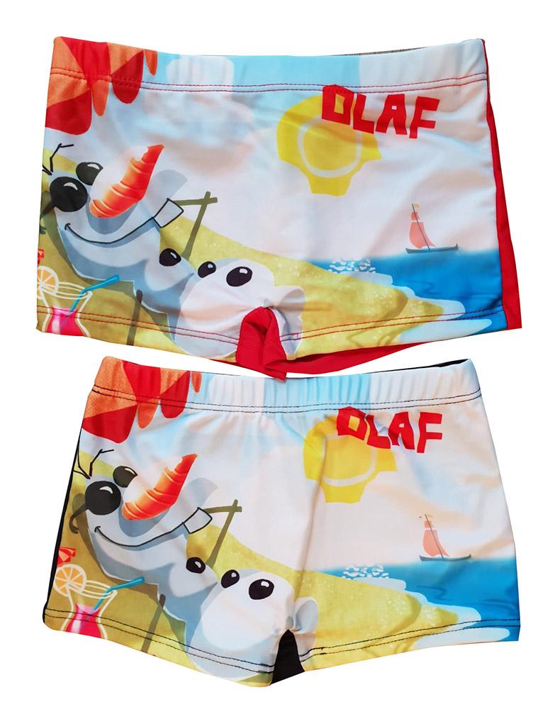 Frozen Olaf am Strand 2er Set Bade-Shorts, mehrfarbig für Jungen (Auswahl)