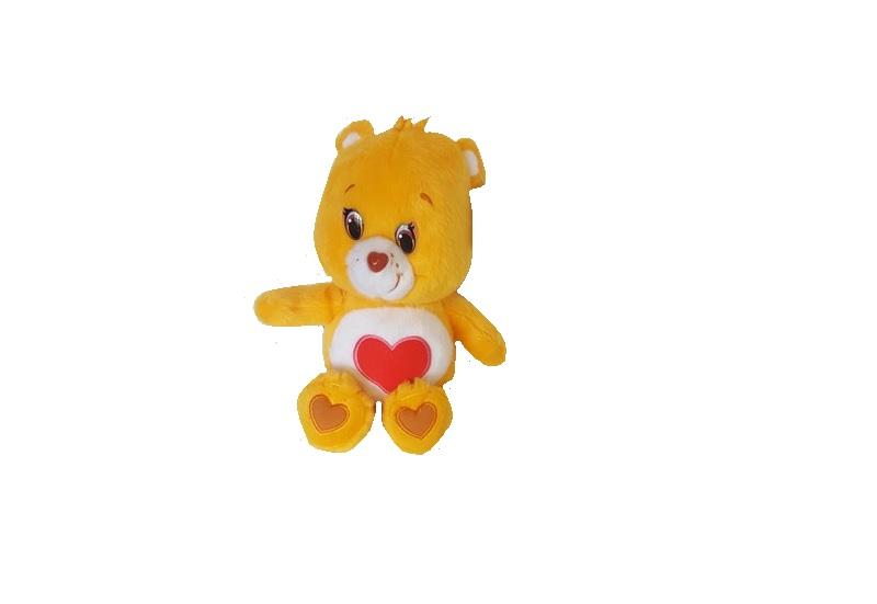 Care Bears Glückbärchis Kuscheltier Bärchi gelb 28 cm