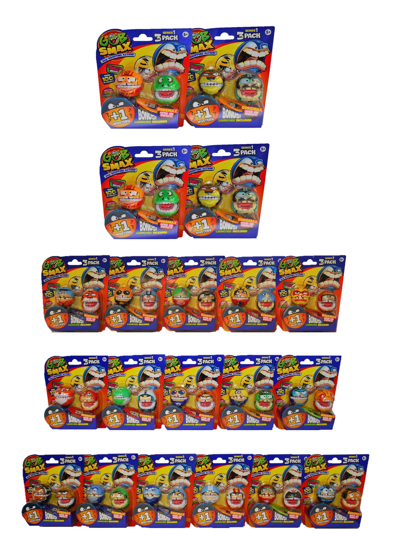 Goliath Gobsmax verschiedene Spielfiguren-Sets mit 3er Packs (Auswahl)