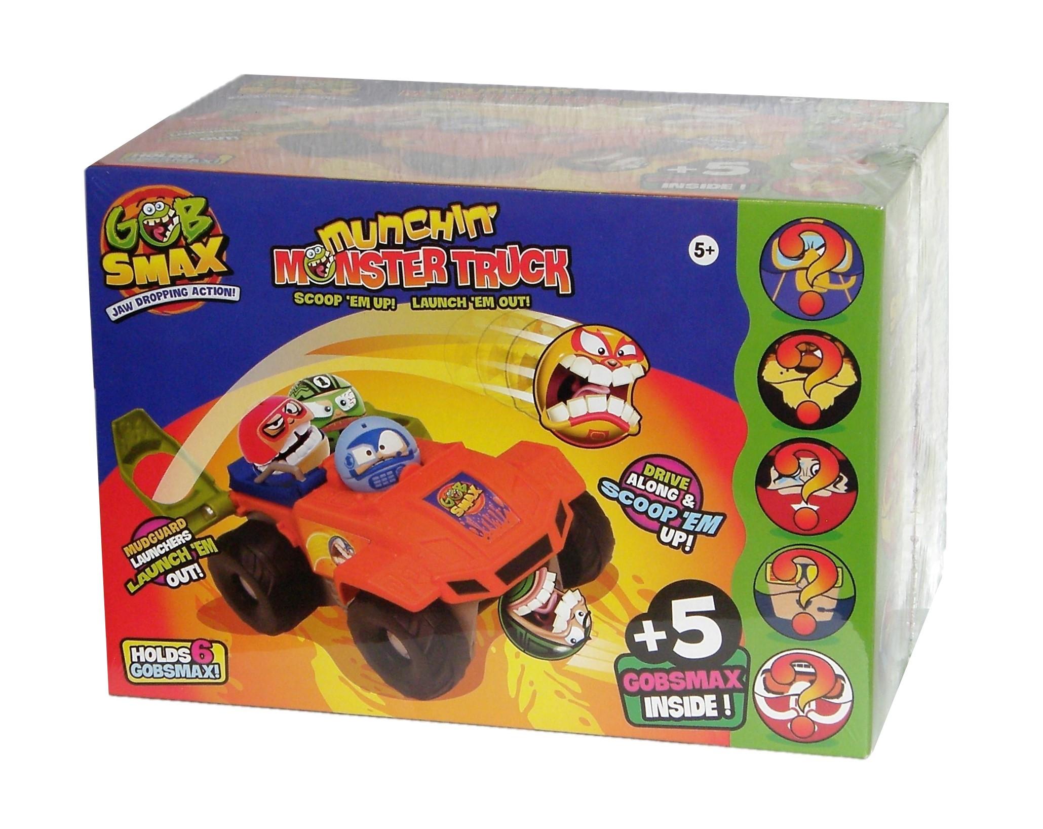 Goliath Gobsmax  Munchin` Monster Truck Spielset und 5 Figuren 32935