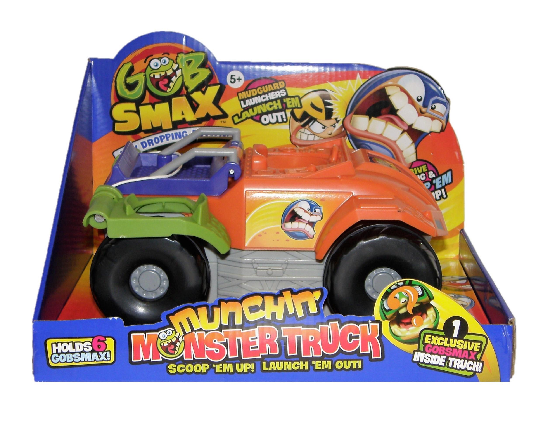 Goliath Gobsmax  Munchin` Monster Truck Spielset und eine Figur 32935