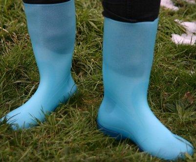 Gummistiefel Rain Boots Azure Blau 40