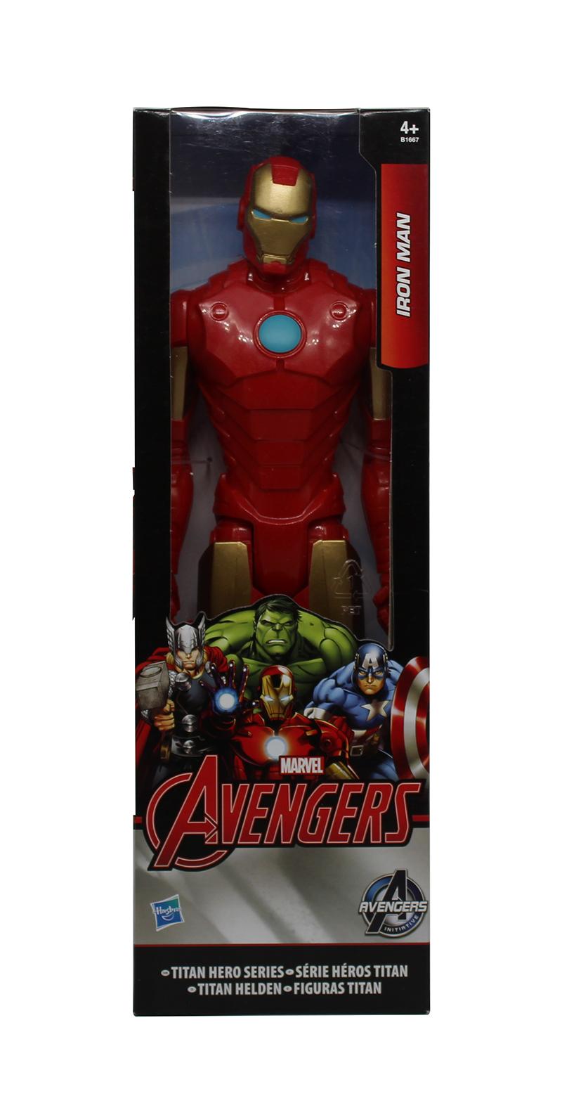 Marvel B1667 Avengers Iron-Man Spielfigur Titan Hero Serie 30cm
