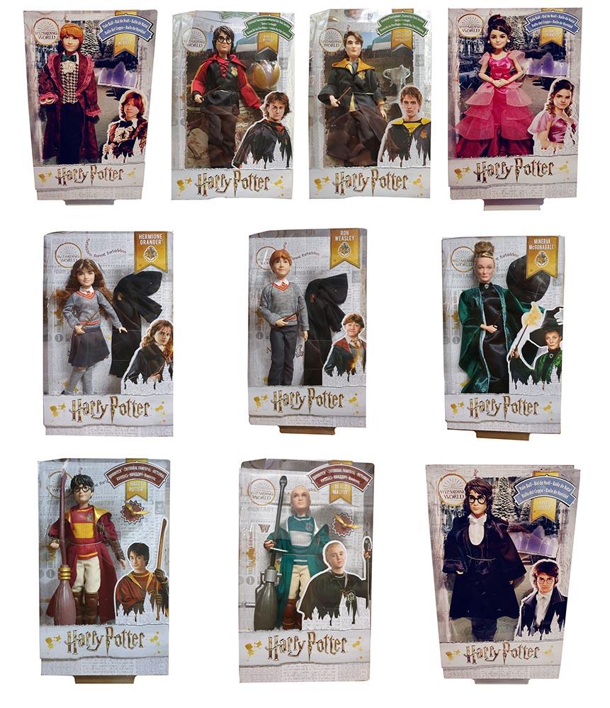 Harry Potter verschiedene Charaktere Puppen mit Accessoires (Auswahl)