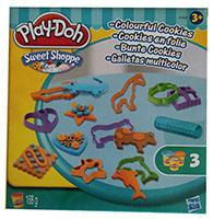 Hasbro A7656 Play-Doh Knete Sweet Shoppe Bunte Cookies mit Ausstechförmchen