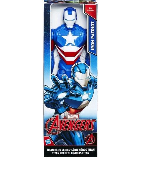 Hasbro C1493ES00 Iron Patriot  Avengers Titan Hero Series 30 cm