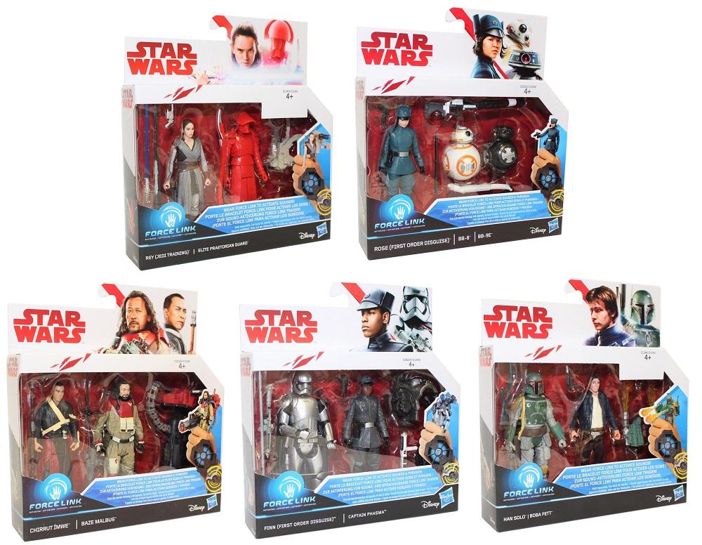 Hasbro Disney Star Wars Force Link Figuren verschiedene Sets (Auswahl)