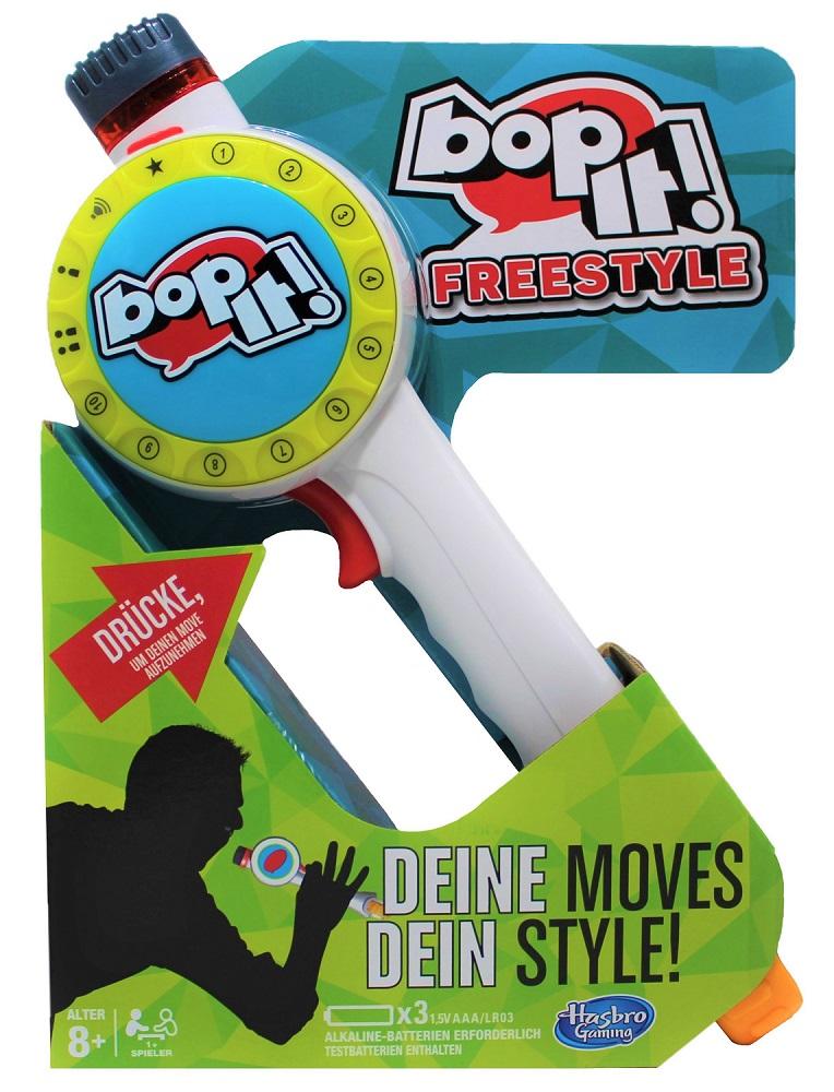 Hasbro bop-it! Freestyle Spiel für Kinder C1379100