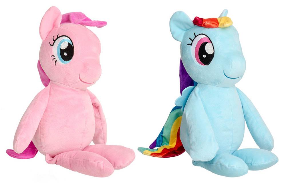 Hasbro My Little Pony C0123EP6 PINKIE PIE C0122EP6 RAINBOW DASH Riesenplüsch55cm