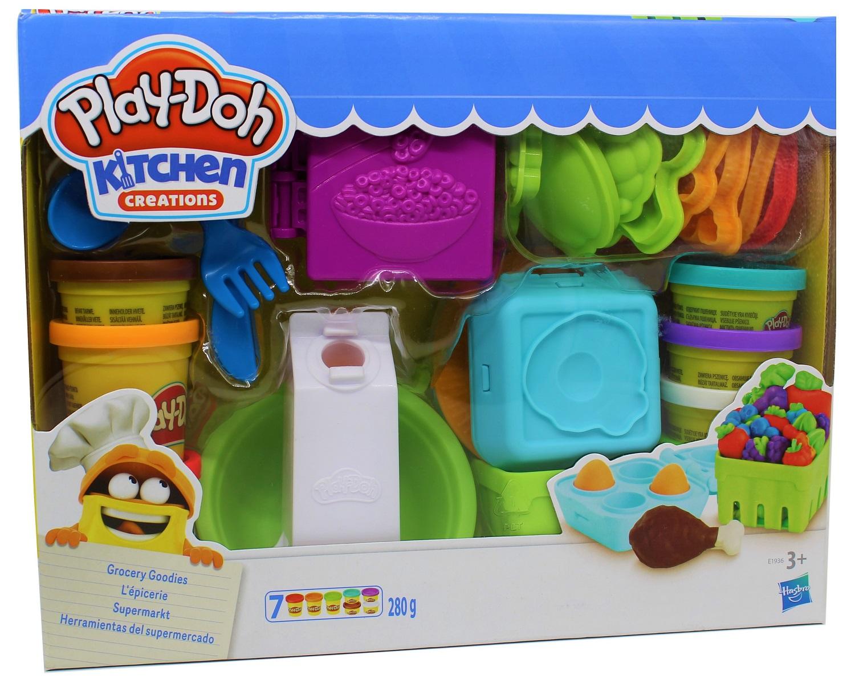 Hasbro Play-Doh E1936EU4 Supermarkt Knete fantasievolles kreatives Spielen
