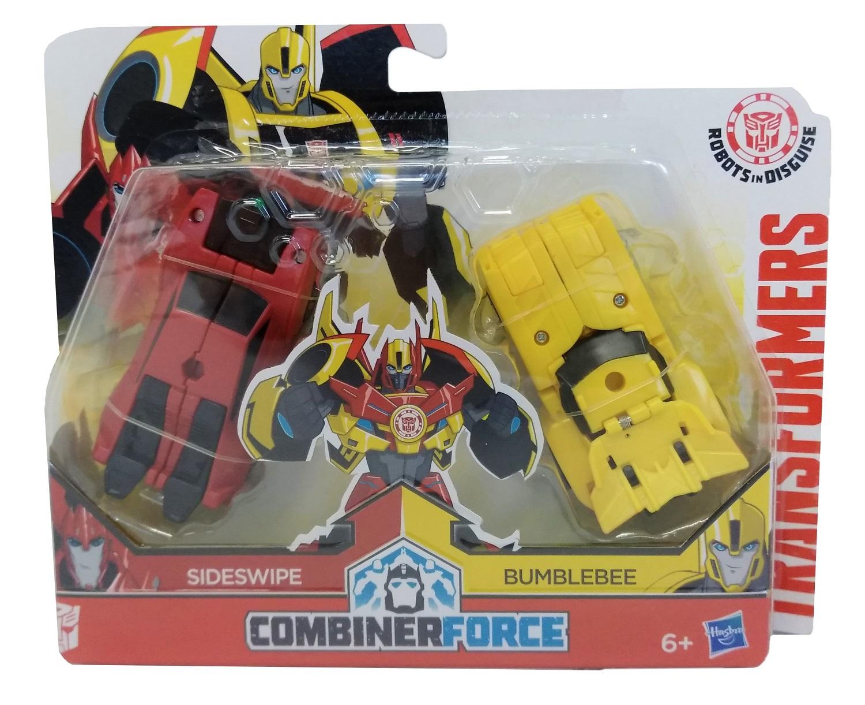 Hasbro Sideswipe und Bumblebee Transformers Actionfiguren-Set C0630