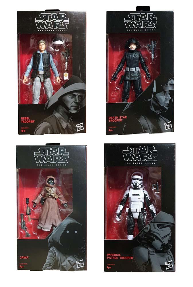 Hasbro Star Wars verschiedene Figuren, The black series Actionfiguren (Auswahl)