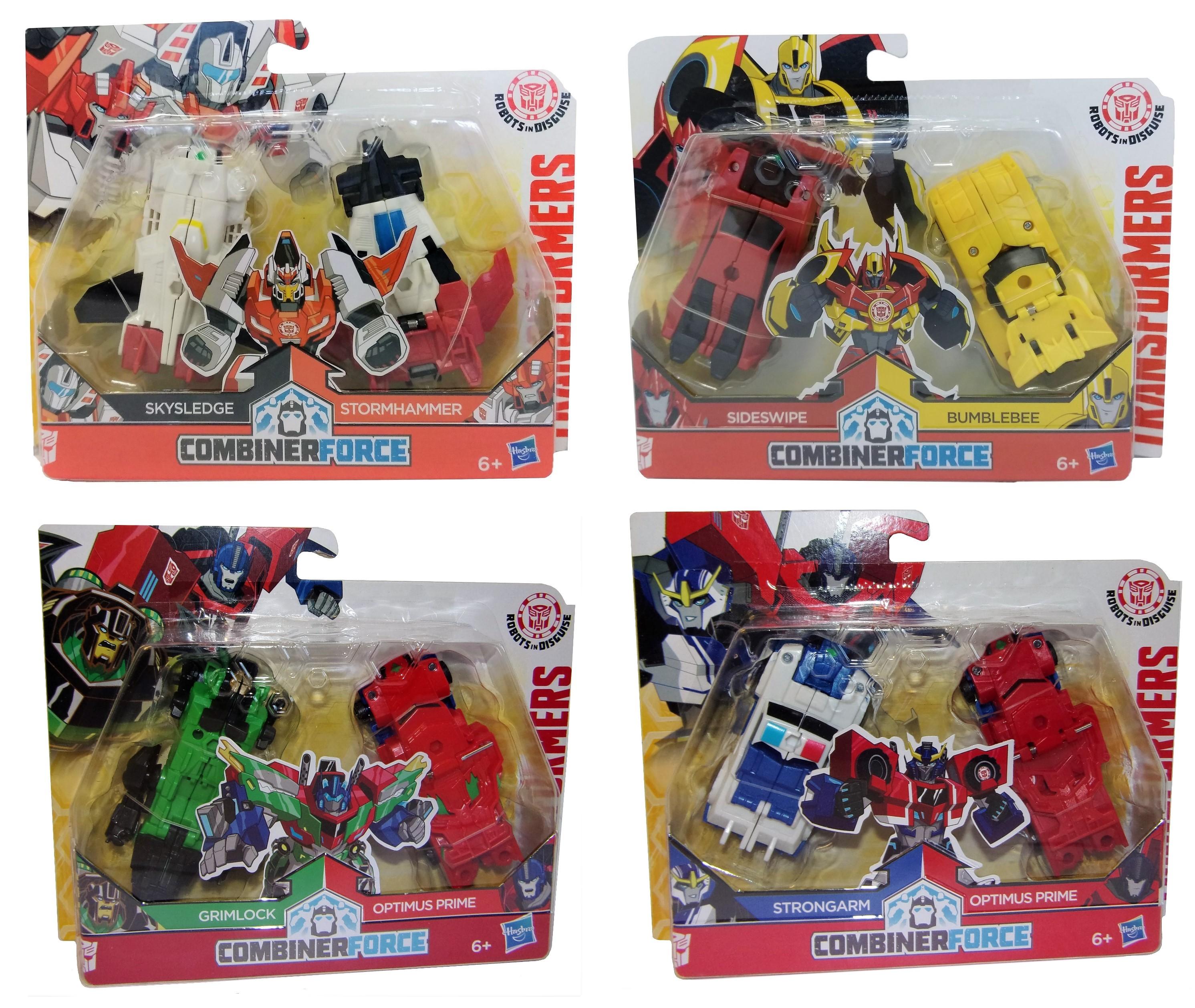 Hasbro Transformers Robots in Disguise versch. Actionfiguren-Set (Auswahl)
