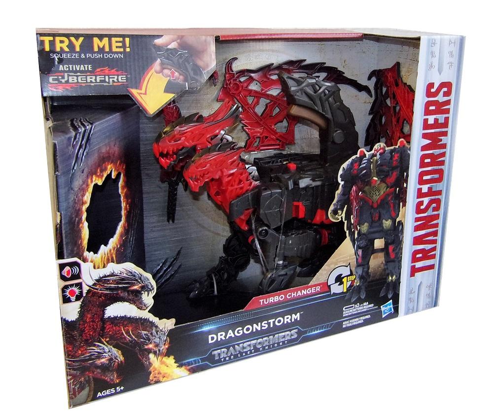 Hasbro Transformers Dragonstorm Actionfigur mit Licht und Sound C0934