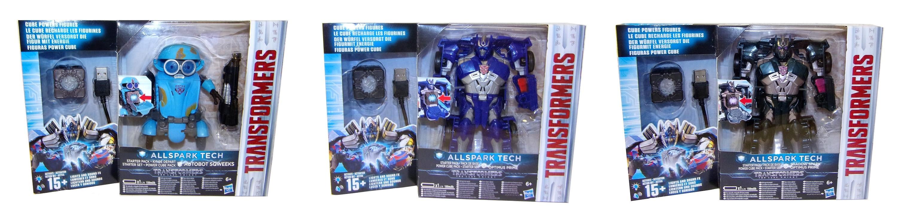 Hasbro Transformers verschiedene Starter Pack Allspark Tech (Auswahl)