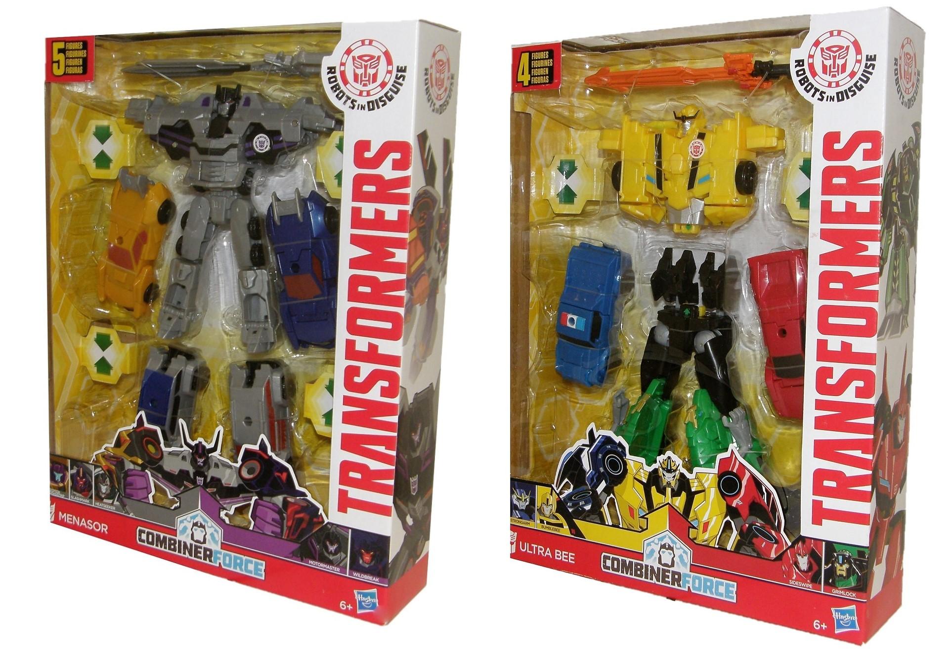 Hasbro Transformers kombinierbare Actionfigur verschiedene Sets