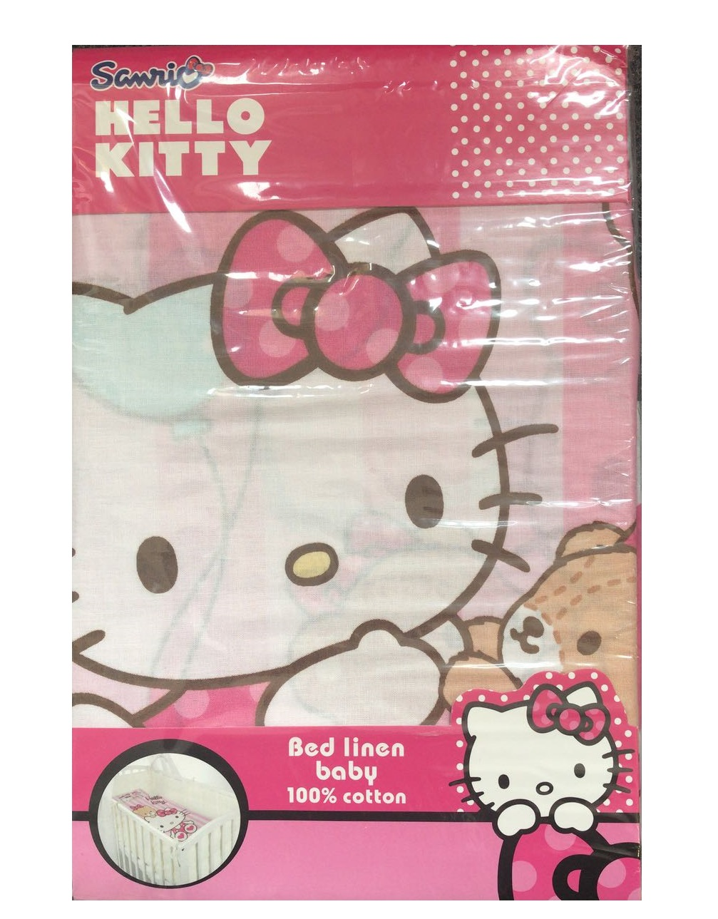 Hello Kitty Baby Bettwäsche In Rosa