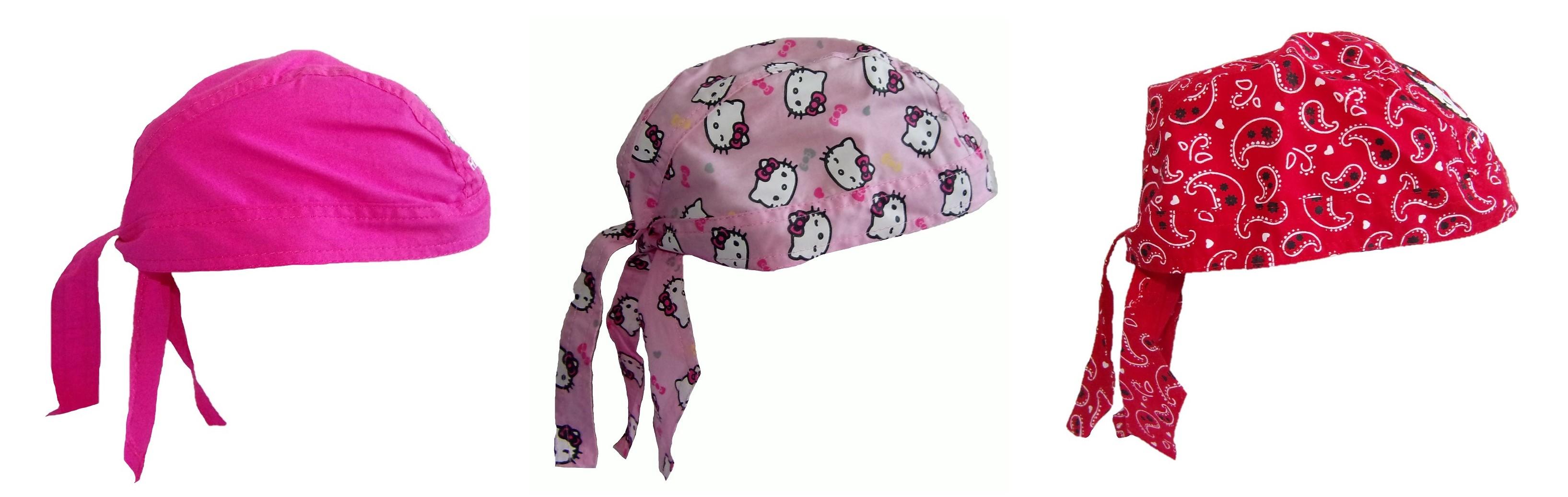 Hello Kitty Bandana-Tuch, Kopftuch versch. Farben für Mädchen (Auswahl)