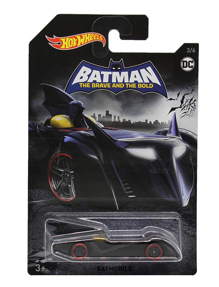 Hot Wheels Batman Batmobil mit roten Felgen FKF36