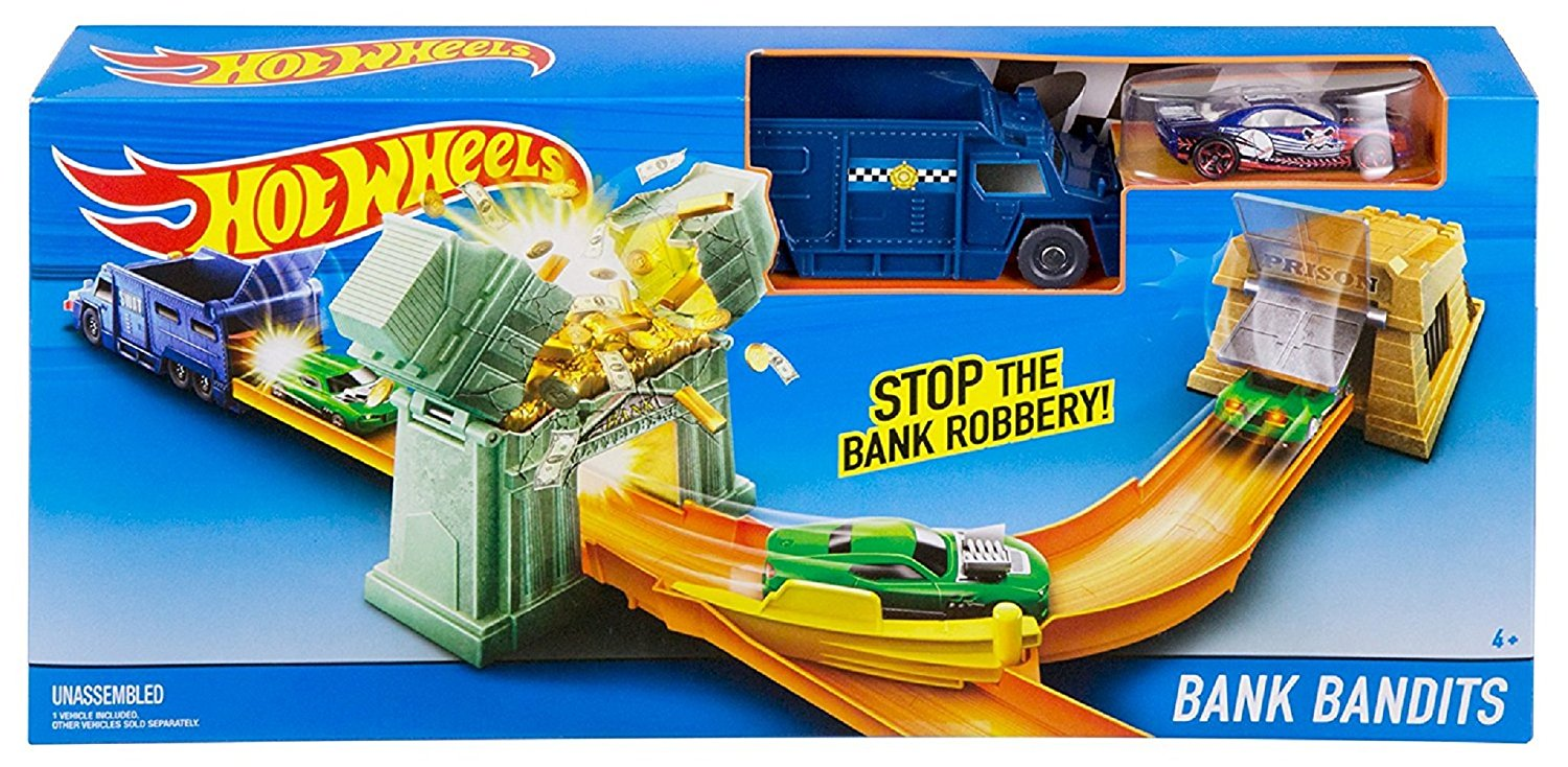 Hot Wheels Bank Bandits Blast Trackset