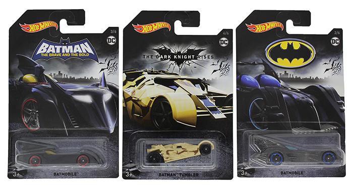Hot Wheels Batman Batmobile verschiedene Fahrzeuge FKF36 (Auswahl)