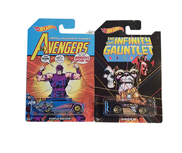 Hot Wheels Avengers Modell-Autos 2er Pack