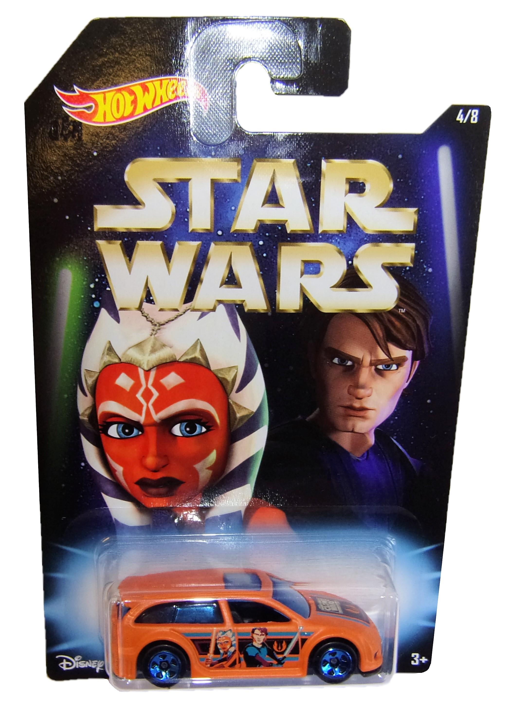 Hot Wheels ASPHALT ASSAULT Star Wars Auto DWD85
